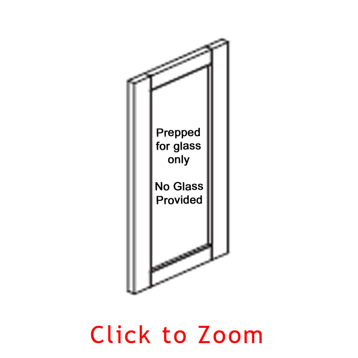 Glass Door Frame - NO GLASS