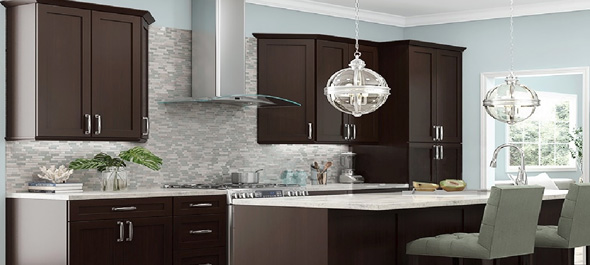 Rta Espresso Shaker Stylish Kitchen Cabinets