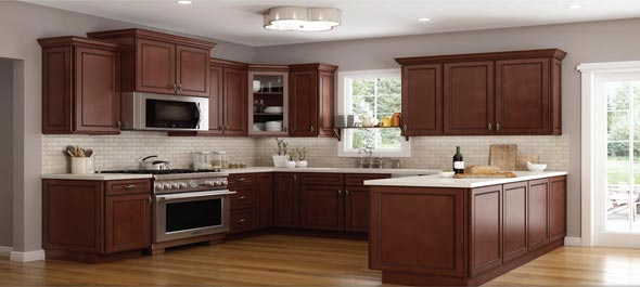 Rta York Chocolate Stylish Kitchen Cabinets